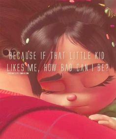 MickeyMeCrazy Disney Wreck it Ralph Quote