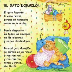 54 Poemas Cortos para Niños » Poesias infantíles Bonitas | ParaNiños.org Spanish Language Learning, Teaching Spanish, Jorge Elias, Ingles Kids, Bedtime Songs, Spanish Lessons For Kids, Spanish Songs, Bilingual Education, Workout Warm Up