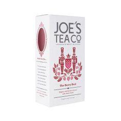 JOE'S TEA ベリーベスト ロンドンNo,1ブレンドティーカンパニー! 全てオーガニックフルーツの、フルーツティー! ルイボスティーベースでハイビスカス、ストロベリー、ラズベリー、ブルーベリーのミックスでフルーティな時間を♡