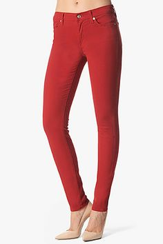 Love Spencer in these red 7 for all Mankind jeans in the Winter premiere!!