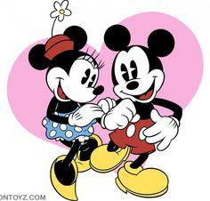 minnie+ mickey=love