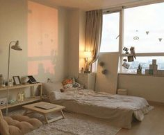 korean bedroom aesthetic room decor seoul beige coffee cream milk tea ideas wooden light soft minimalistic 아파트 침실 アパート 寝室 aesthetic home interior apartment japanese kawaii g e o r g i a n a : f u t u r e h o m e Dream Rooms, Dream Bedroom, Pretty Bedroom, Apartment Interior, Room Interior, Small Apartment Bedrooms, Apartment Goals, Studio Apartment, Aesthetic Room Decor