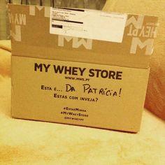 Obrigada @mws.pt ! Esta é minha!!  Rapidez e eficiência no processo de encomendas recomendo vivamente a My Whey Store! ( # @patriciadmateus)