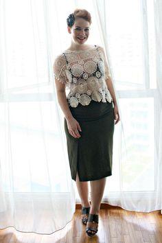 #elegant #lace #vintageinspired #stylegallery