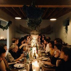 The Kinfolk Table Contributors Dinner in Portland | Amanda Jane Jones