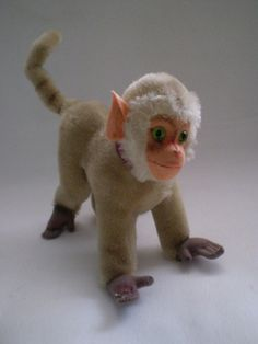 Hey, I found this really awesome Etsy listing at https://www.etsy.com/listing/85186660/sale-vintage-steiff-mohair-baboon-coco