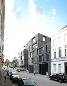 apartments JOREMAAIE | gent - Projects - CAAN Architecten / Gent