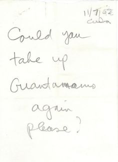 """""""Could you take up Guantanamo again please?""""   11 Fascinating Doodles JFK Drew During The Cuban Missile Crisis"""