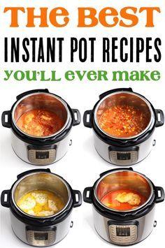 19 Best Easy Instant Pot Recipes! - Never Ending Journeys