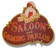 Old West Saloon Bar from Ranch Rack Saloon Decor, Old West Saloon, Western Signs, Wild West Theme, Rococo Style, Blue Bird, Westerns, Holiday Decor, Brand Identity