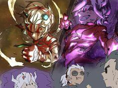 Doom Demons, Rick And Morty Crossover, Monster Hotel, Character Art, Character Design, Deadpool Wallpaper, Thicc Anime, Ladybug Comics, Arte Horror