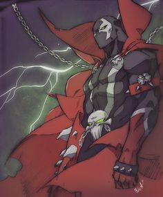 Spawn Created by Mike Anderson | HeroChan