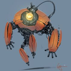 Practicebot 011 by gregorKari on deviantART ★ Find more at http://www.pinterest.com/competing/