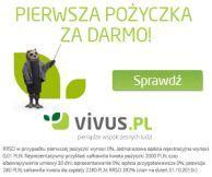 http://mojepozyczkowo.pl/vivus/  Vivus nie daje konkurencji żyć. Darmowa pożyczka za 1200 zł na 30 dni.