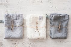 Eco-friendly and oh-so beautiful linen towels