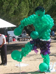 Avengers Party Balloons   The Hulk