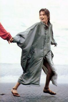 Claudia Schiffer by Arthur Elgort for Vogue, June 1990