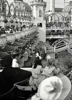 1905 Luna Park, Coney Island, Brooklyn New York