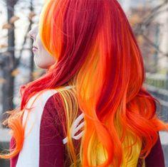 This New Hair Color Trend Has Already Replaced Rainbow Hair via Brit + Co
