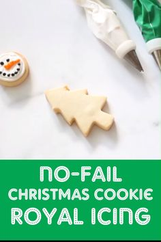 Perfect, NO-FAIL royal icing to decorate Christmas cookies. Make decorated Christmas cookies with these perfect, no-fail, cut-out cookie and royal icing recipes. Make-ahead and freezing how-tos. Christmas Cookie Icing, Holiday Cookies, Holiday Desserts, Christmas Cut Out Cookies, Icing For Gingerbread Cookies, Christmas Cupcakes, Holiday Decor, Christmas Snacks, Christmas Cooking