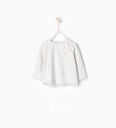 ZARA - PROMOTIONS - Organic cotton T-shirt with tulle bows