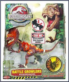 Hasbro Jurassic Park 2K9 Series: Battle Growlers - Dilophosaurus 2009