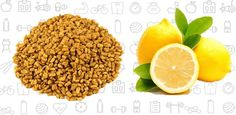 #Fenugreek and #Lemon is a simple mixture, yet works tremendously for #dandruff control.