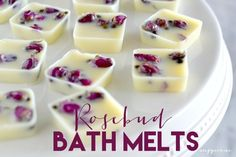 (@) Rosebud Bath Melts | Simply Sugar & Gluten-Free | Bloglovin'