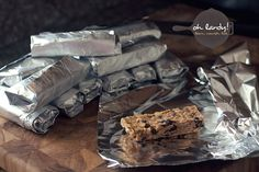 Frozen Granola Bars - for the kiddos