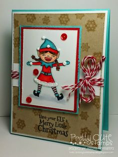 Inkin' It Up With Kendra! Pretty Cute Stamps Christmas Cheer Sneak Peek