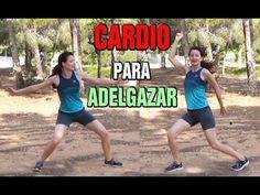 CARDIO PARA ADELGAZAR Y QUEMAR GRASA -Cardio intenso para perder peso rápido - YouTube