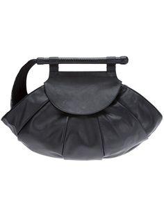 NAOMI GOODSIR Horsehair Whip Bag