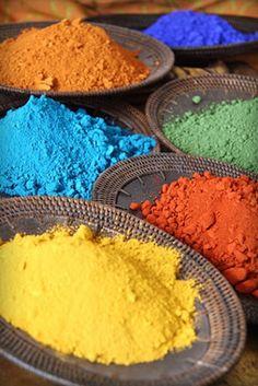 Marokko: kleuren op de markt