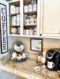 When Life Gives You Lemons Sign, Trade Lemons for Coffee, Farmhouse Inspired Kitchen Sign, Kitchen Decor, Coffee Bar, Rae Dunn Sign by FarmToTableCreations on Etsy https://www.etsy.com/listing/593752566/when-life-gives-you-lemons-sign-trade