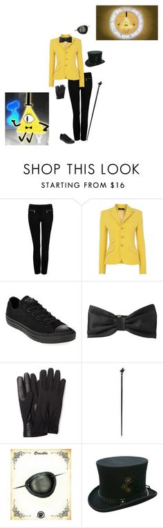 """""""Human!Bill Cipher"""" by awesomekittypower ❤ liked on Polyvore featuring Forever New, Polo Ralph Lauren, Converse, Kate Spade, Isotoner, Pasotti Ombrelli, women's clothing, women's fashion, women and female"""