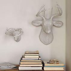 Papier-Mache Animal Sculptures | West Elm
