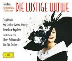 LEHÁR Die lustige Witwe  - Gardiner - Deutsche Grammophon