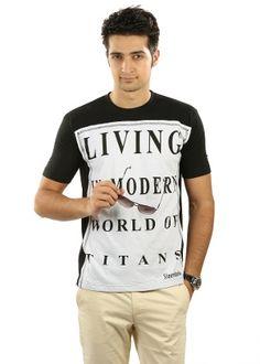 Steenbok Men's T-shirt - Black