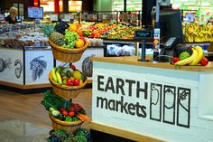 Earth Markets NOW OPEN AT LOGAN HYPERDOME SHOPPING CENTRE - THE MARKET ROOM