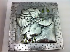 Another beautiful design by Pewter Art-design copyrighted. Maple & Moose