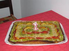 crostata alla frutta 1° compleanno greta