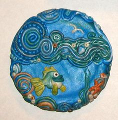 Under the Sea by PlanetaryButterfly - polymer clay covered Altoids tin