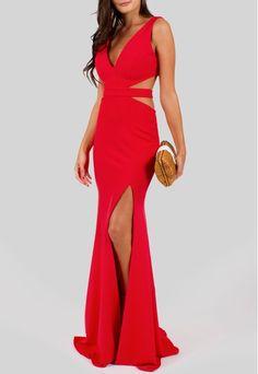 POWERLOOK - Aluguel de Vestidos Online –Vestido Vivi longo com recortes na cintura e fenda Powerlook - vermelho#alugueldevestidos #powerlook  #madrinha #casamento #festa #lookcasamento #lookmadrinha #lookfesta #party #glamour #euvoudepowerlook  #dress #dreams #arrase #alugue  #devolva #modaconsciente  #beauty #beautiful #vivi#vermelho #longo #fenda #recortes #noite #casamentonoite #night