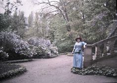 vintage everyday: Edwardian Era – Amazing Color Photos Show That Life in This…