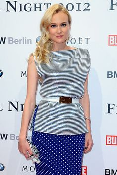 Diane Kruger in Alessandra Rich (Diane = perfection)
