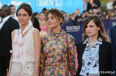 Anne Berest, Lola Bessis, Christine & The Queens (Photo Serge Arnal) #Deauville2014 #DESSANGE