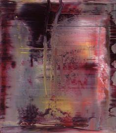 Abstraktes Bild  2000  46 cm x 40 cm  Oil on Aludibond  Gerhard Richter