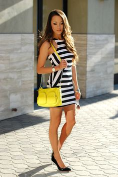 Hapa Time - a California fashion blog by Jessica - new fashion style - 2014 fashion trends: More Stripes and Brights