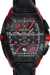 Franck Muller Conquistador GPG Chrono 8900CCDTGPG Red Ergal Watch