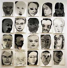 Marlene Dumas is a British artist. She draws and paints portraits of people. Instead of depicting exactly how they look like. She makes her work look psychological to be interpreted in many ways. Marlene Dumas, Kunst Online, Online Art, Art And Illustration, L'art Du Portrait, Figurative Kunst, Creation Art, South African Artists, Art En Ligne